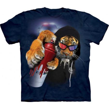 Tiger Graffiti Saber T-Shirt
