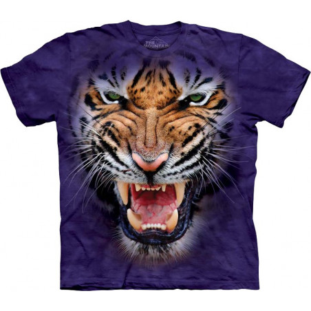 Growling Big Face Tiger