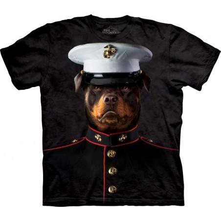 Dog Marine Sarge T-Shirt The Mountain