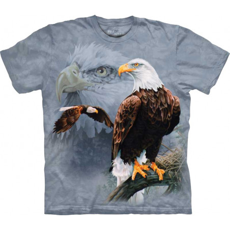 Eagle Collage T-Shirt The Mountain