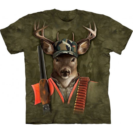 Hunter Buck T-Shirt The Mountain