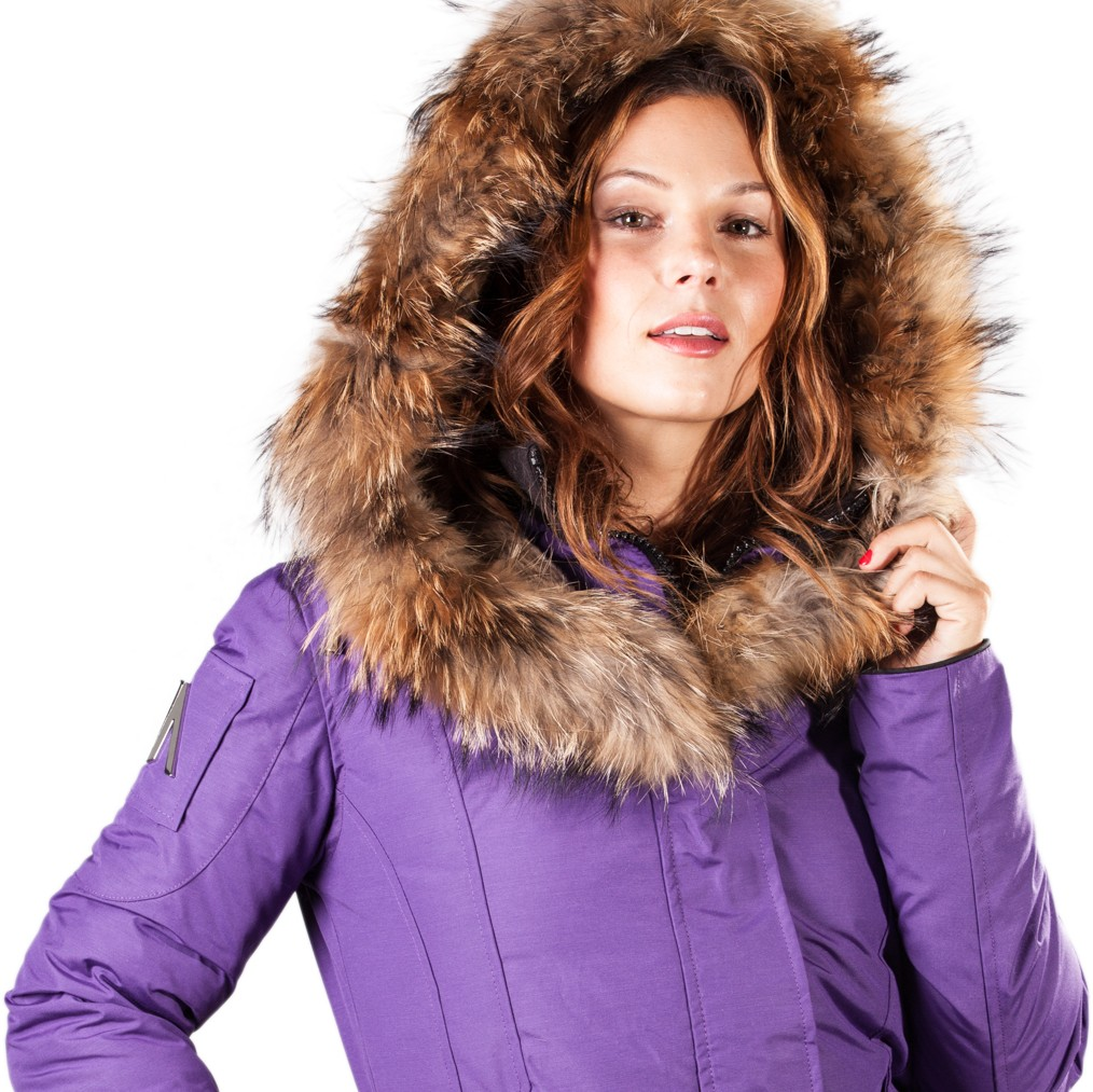 6910f4f0daf Parka Women Mont Tremblant Arctic North Grape