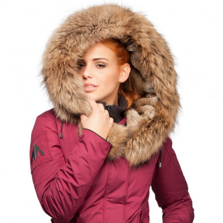 Women Parka Mont Tremblant Arctic North Syrah