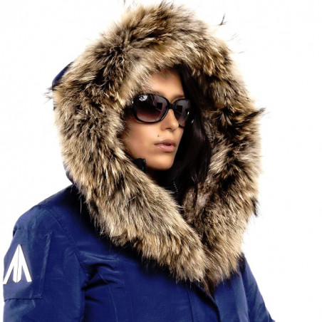Women Parka Mont Tremblant Arctic North Blue