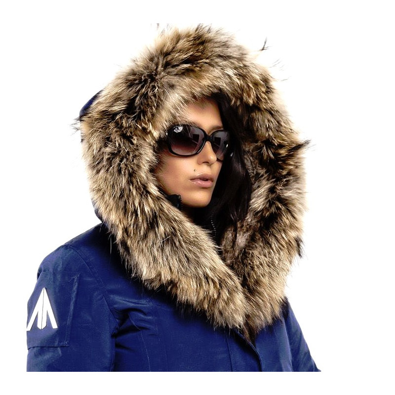 Mont Tremblant - Blue - Parka - Women