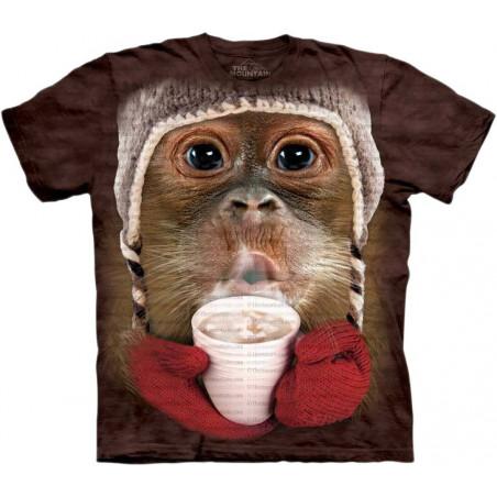 Hot Cocoa Orangutan T-Shirt The Mountain