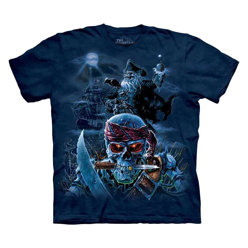 Zombie Pirates T Shirt The Mountain Clothingmonster Com