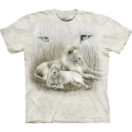 White Lion T-Shirt The Mountain
