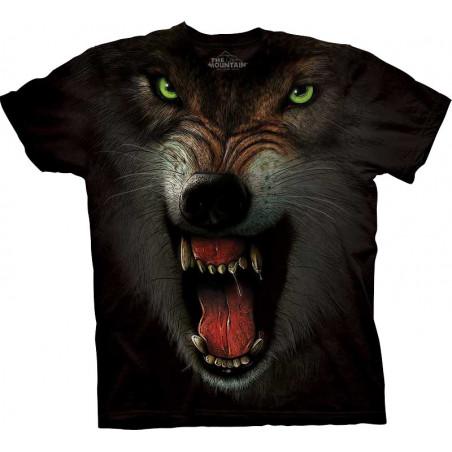 Wolf GRRRRRR T-Shirt The Mountain