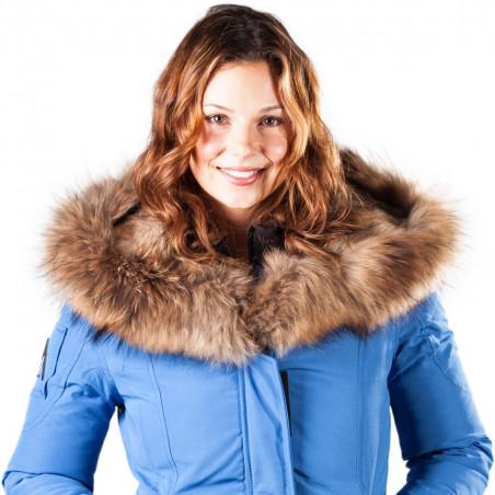 Arctic North Women Mont Tremblant Cobalt Parka