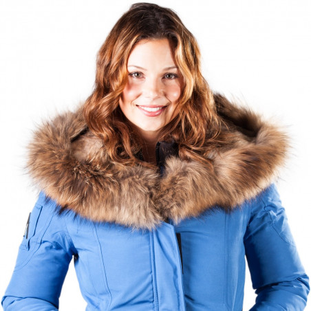 Women Parka Mont Tremblant Arctic North Cobalt