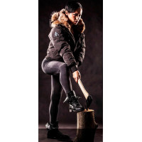 Saint Sauveur - Black - Bomber - Women