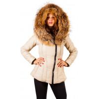 Sicilia-Shinny - Camel - Puffer - Jacket