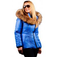 Sicilia-Shinny - Cobalt - Puffer - Jacket