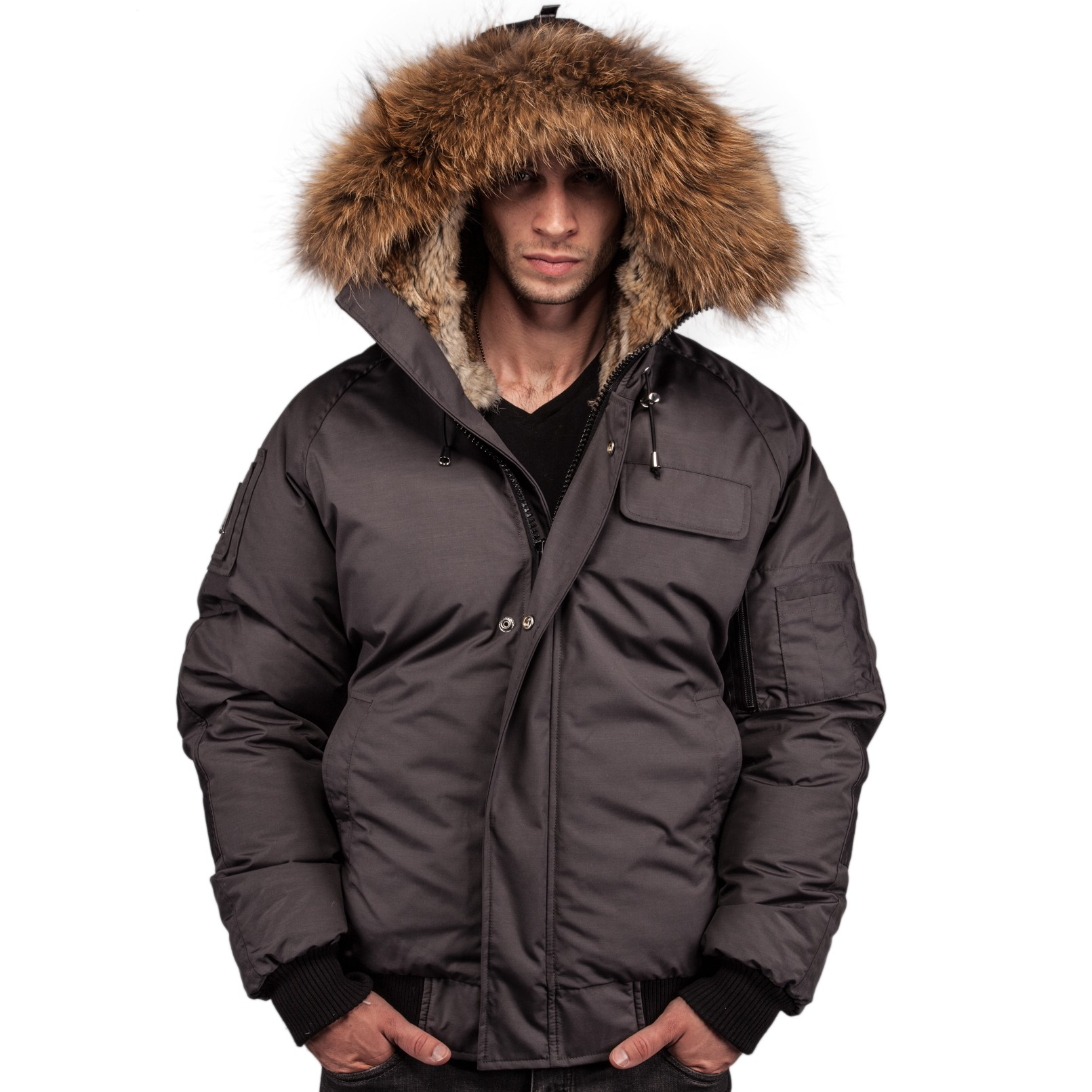 Mens Parkas & Bomber Jackets by Arctic North - clothingmonster.com