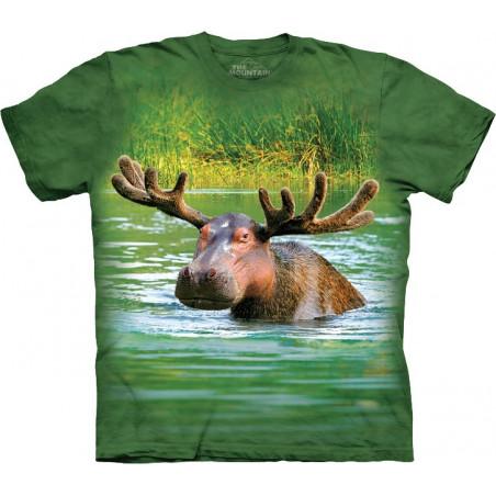 Hippopotamoose T-Shirt The Mountain