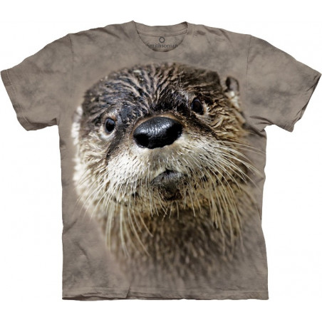 Design T Shirt North American River Otter T-Shirt The Mountain