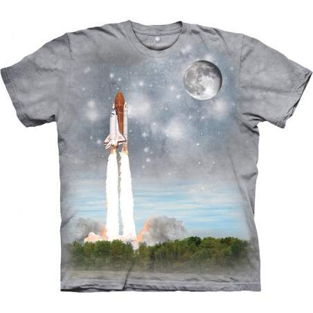 Final Flight To Iss T-Shirt The Mountain