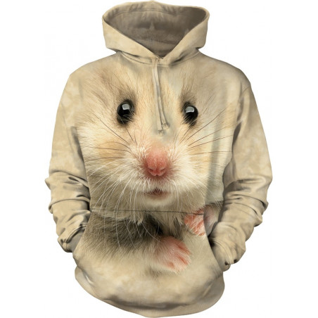 Hamster Face Hoodie The Mountain