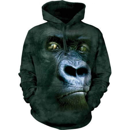 Silverback Portrait Hoodie The Mountain