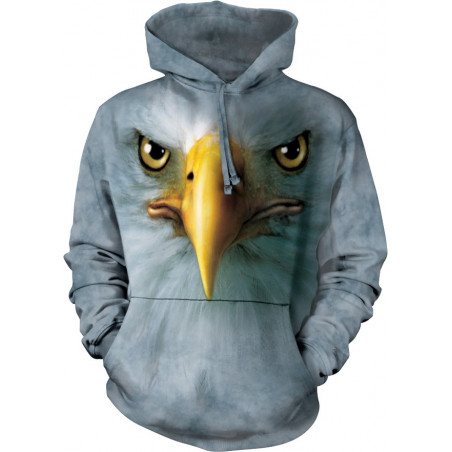 Eagle Face Hoodie The Mountain