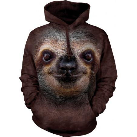 Sloth Face Hoodie