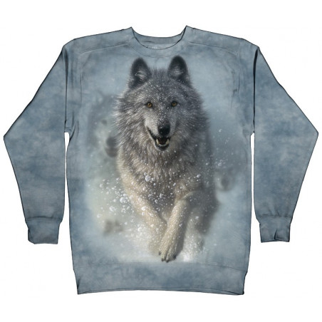 Snow Plow Crew Neck Sweatshirt The Mountain