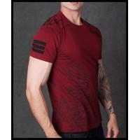 T-shirt - SSK111182-BURG