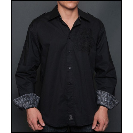 SHIRTS - LSW131458-BLK