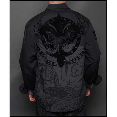 SHIRTS - LSW131482-BLK