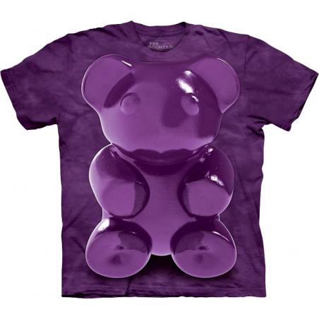 Purple Chewy Bear T-Shirt The Mountain