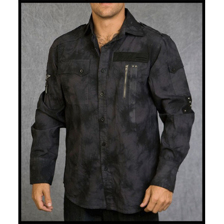 SHIRTS - LSW110697-BLK