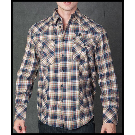 SHIRTS - LSW111085-BWN