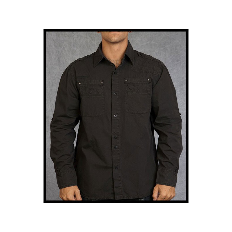 SHIRTS - LSW111091-BLK