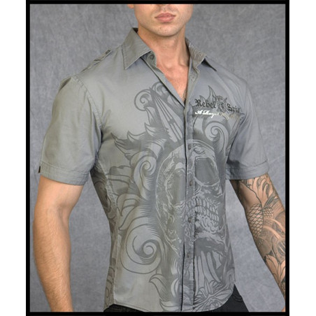 SHIRTS - SSW110775-GREY