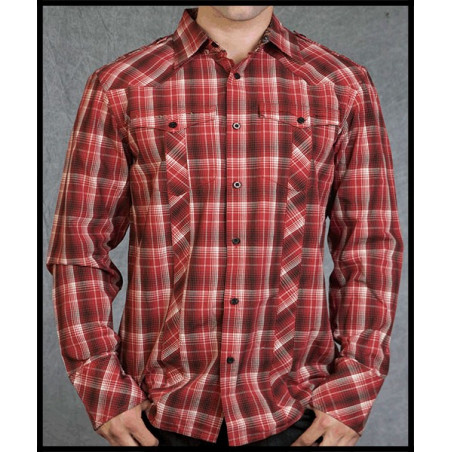 SHIRTS - LSW110705-RED