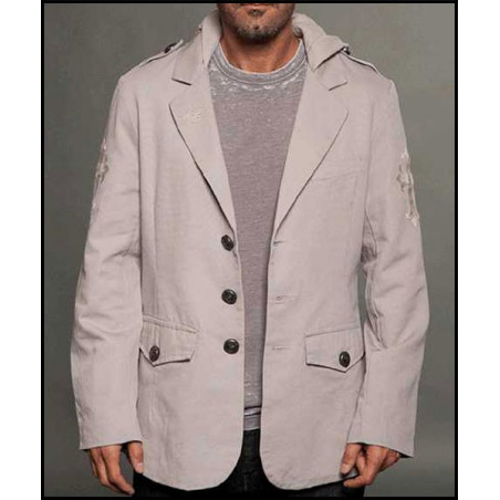 JACKET - BLZ111195-CEMENT