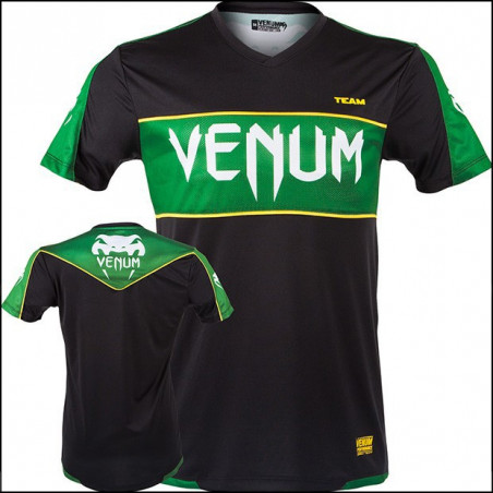 Competitor Black-Green T-Shirt Men Venum