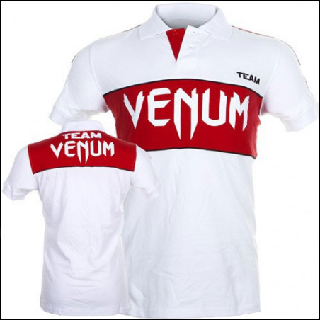 Team Polo Ice-Red T-Shirt Men Venum