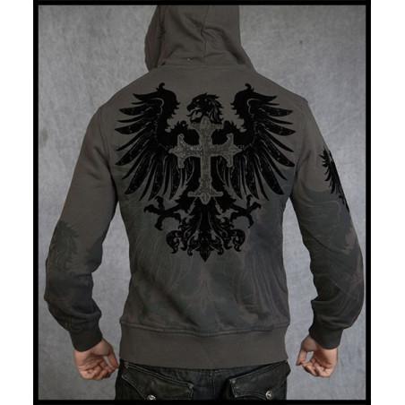 Royal Eagle Hoodie Men Rebel Spirit
