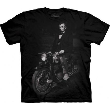 Biker Lincoln T-Shirt The Mountain