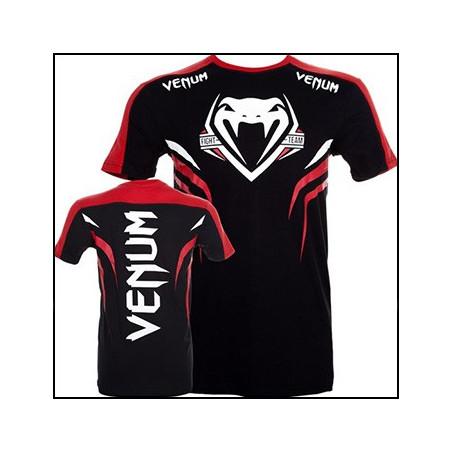 Shockwave 2 Black-Red T-Shirt Men Venum