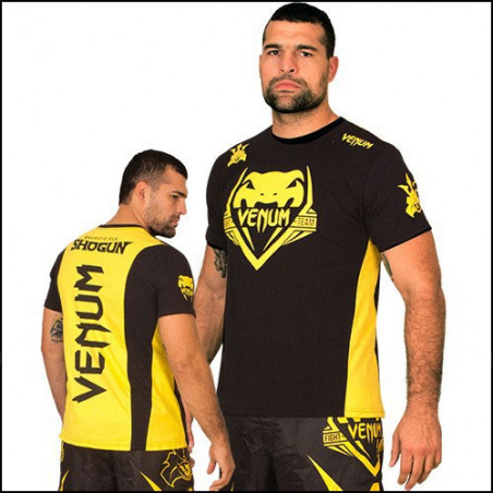 Shogun Team Shockwave Black-Yellow T-Shirt Men Venum