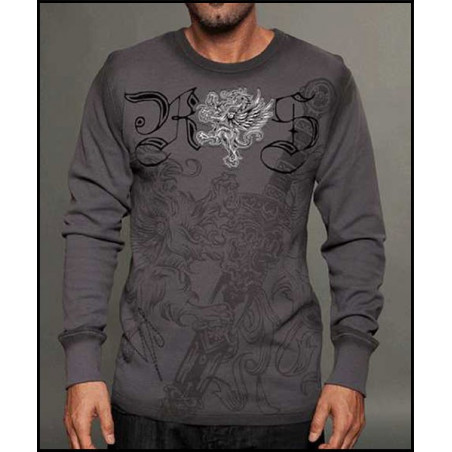 Rebel Spirit Men Royal Poniard LS Thermals