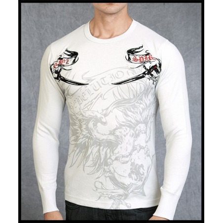 Rebel Spirit Men Eagle Heart LS Thermals