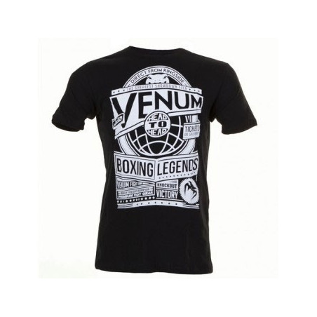 Boxing Legends - T-shirt - Black