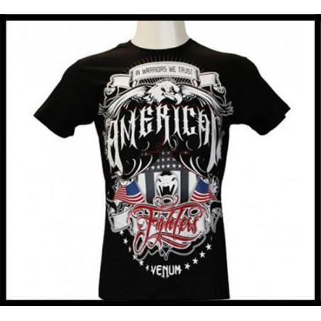 American Fighters - Tshirt Black - Creative Line