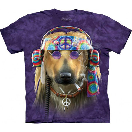 Peace Dog T-Shirt The Mountain