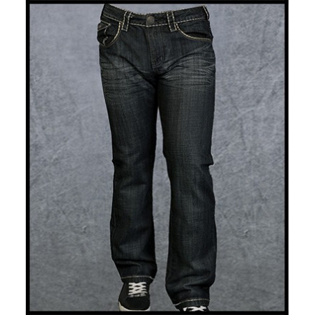 Black Crave Jeans Men Rebel Spirit