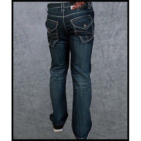 Blue Crave Jeans Men Rebel Spirit